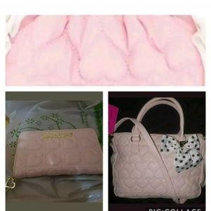 Betsey Johnson handbags 4 piece set